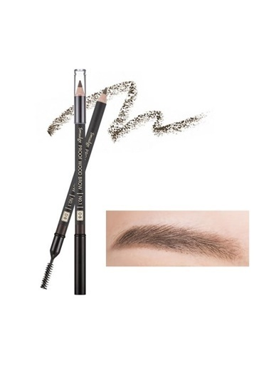 Missha Smudge Proof Wood Brow (Dark Brown) Kahve